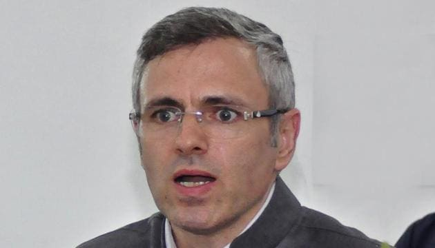 Former Jammu and Kashmir chief minister and National conference vice-president Omar Abdullah on Tuesday said the demand for a separate Prime Minister for the state is not new.(HT File Photo)