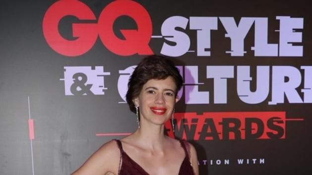 """Kalki Koechlin at the """"GQ Style and Culture Awards 2019 in Mumbai, on March 30.(IANS)"""
