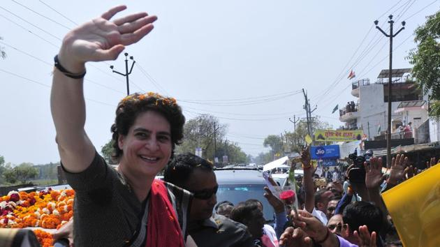 The Uttar Pradesh unit of the Congress wants Priyanka Gandhi Vadra to contest the Lok Sabha elections from the state.(HT Photo)