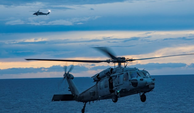 The Trump Administration on Tuesday notified the Congress that it has approve sale of 24 MH-60R multi-mission helicopters, which will provide the Indian defence forces the capability to perform anti-surface and anti-submarine warfare missions.(Reuters File Photo)