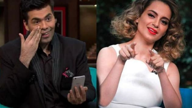 Karan Johar was asked why he is in love with nepotism, the filmmaker said someone else is in love with the subject.