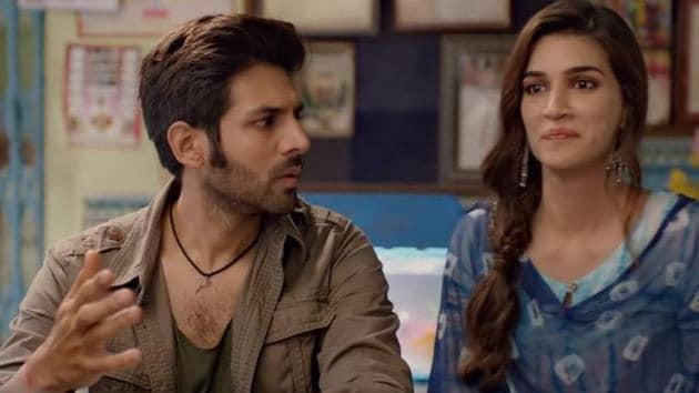 Kartik Aaryan and Kriti Sanon play lead roles in Luka Chuppi.