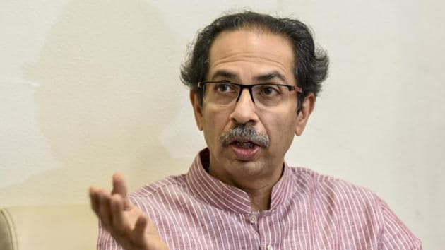 Shiv Sena chief Uddhav Thackeray, in an interview to Saamana, said the condition of the Congress today is bad.(Kunal Patil/HT File Photo)