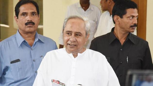 Odisha chief minister Naveen Patnaik has kept his promise to name women candidates on 33 per cent Lok Sabha seats in the state.(Arabinda Mahapatra/HT Photo)