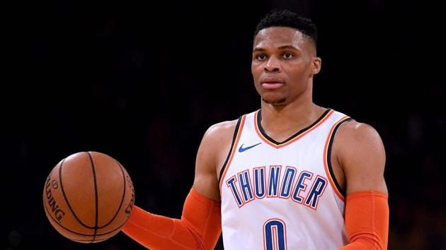File image of Oaklahoma City Thunder star Russell Westbrook(AFP)