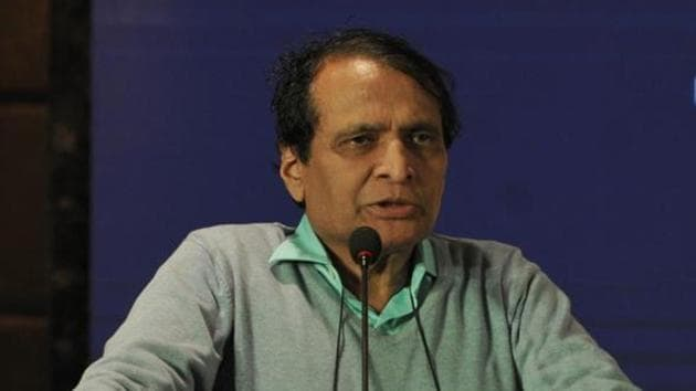 Minister of commerce and industry Suresh Prabhu.(HT File Photo)
