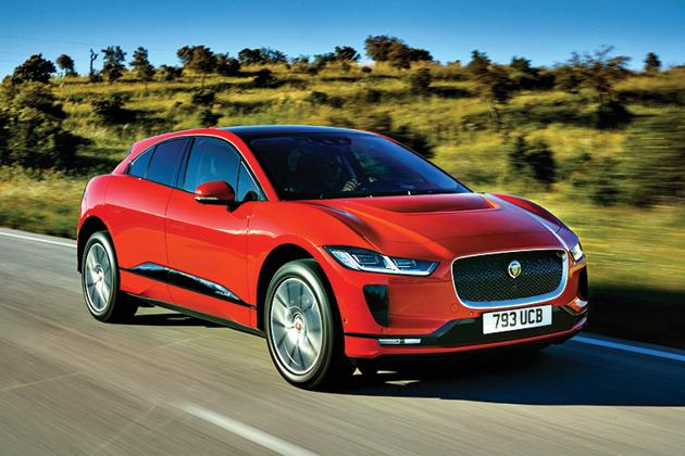 The Jaguar I-Pace steers with a level of fluency and precision that belies its weight