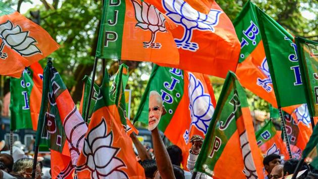 BJP's Farrukhabad candidate Mukesh Rajput has denied threatening the power department official but admitted to not having his electricity bill since 2014.(PTI)