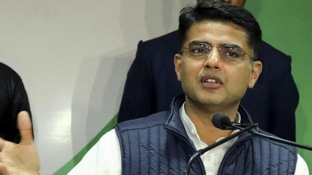 Congress Haridwar candidate Ambrish Kumar wants Rajasthan deputy CM Sachin Pilot to address an election rally in the constituency.(PTI)