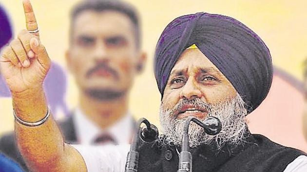 Sukhbir Singh Badal's decision to field Bibi Jagir Kaur from Khadoor Sahib and Charanjit Singh Atwal from Jalandhar are being seen as a bold move.(HT Photo)