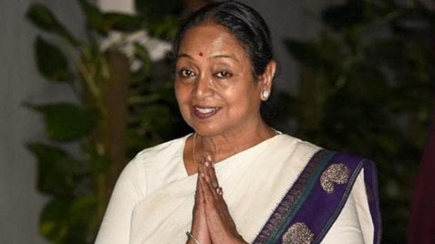 Meira Kumar is the Congress candidate from the Sasaram Lok Sabha constituency.(PTI)