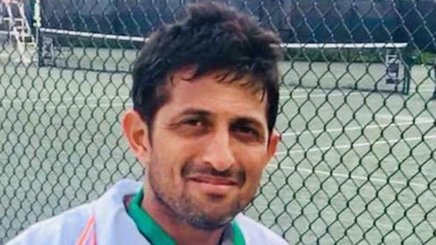 Nitten Kirrtane, senior Indian tennis player(HT HOTO)