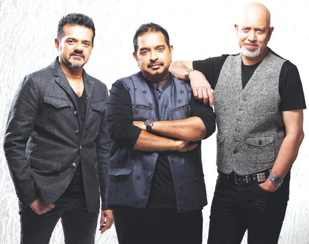Shankar, Ehsan and Loy believe that making music is a beautiful process: their ideas just flow into one another(Mrinal Kalsekar)