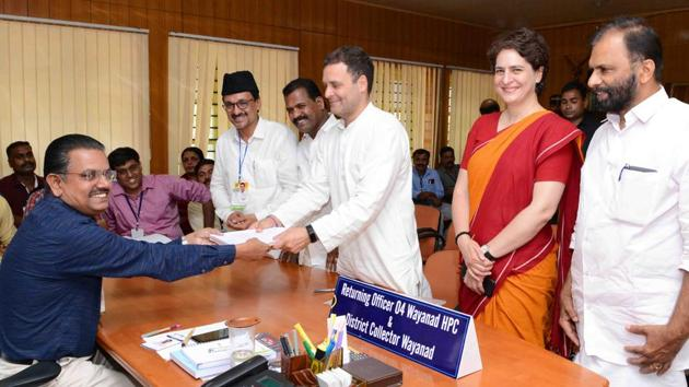 Wayanad constituency was carved out from Malappuram, Kozhikode and Kannur during the restructuring of constituencies in 2008. Congress' MI Shanawas, who won the Wayanad Lok Sabha seat in 2009 and 2014, died last year.(HT Photo)