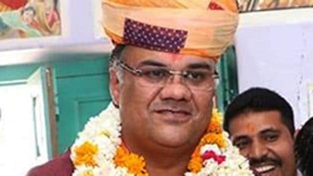 BJP Jalore candidate Devji Patel(Photo Credit: Devji Patel Facebook page)