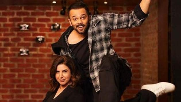 Rohit Shetty will produce the yet untitled film that Farah Khan will direct. It is expected to be the remake of an older Indian film.(Instagram)