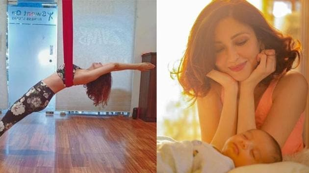 Saumya Tandon gave birth to a baby boy in January this year.(Instagram)