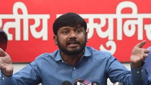 Kanhaiya Kumar has called his crowdfunding a new brand of alternative politics and saw nothing wrong if people were to fund such public contests out of their own money.(HT PHOTO)