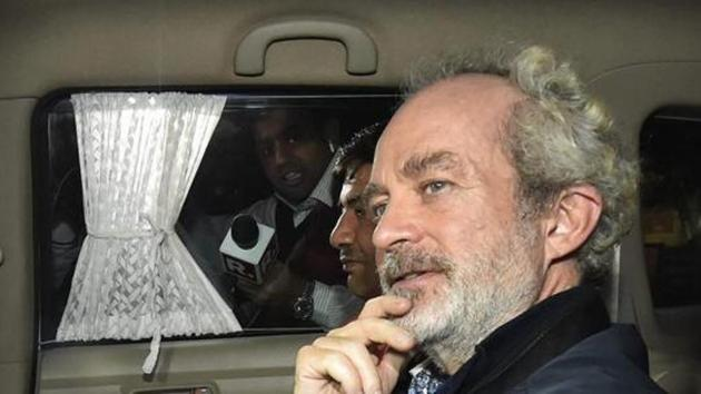 Agusta Westland scam accused middleman Christian Michel's statement records were also submitted and mentioned in the supplementary chargesheet.(PTI)