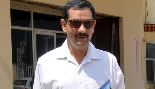 Jitendra Singh of the erstwhile Alwar royal family is the Congress candidate from the Alwar Lok Sabha seat.(HT Photo)