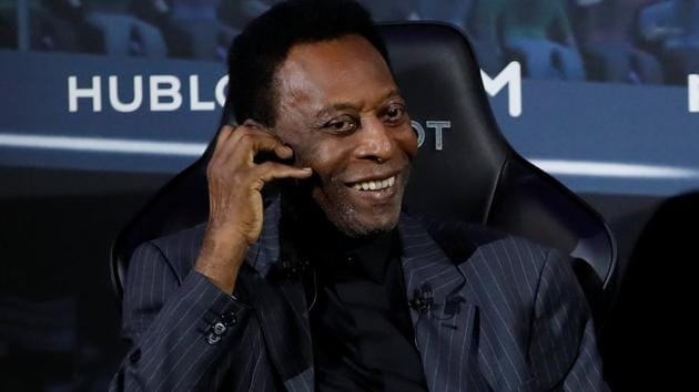 A file photo of Brazilian football legend Pele.(REUTERS)