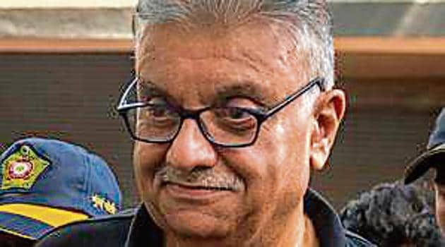Peter Mukerjea recently underwent surgery at a private hospital after suffering a heart attack.(HT File)
