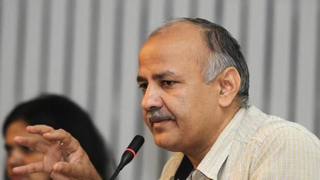Manish Sisodia added that governing bodies in colleges of Delhi University have not been constituted as required under the norms despite the insistence of the Delhi government(HT Photo)