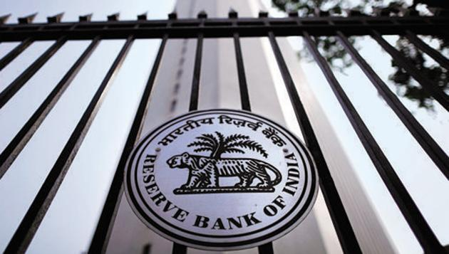 The Reserve Bank of India (RBI) seal is pictured on a gate outside the RBI headquarters in Mumbai October 29, 2013. Image for representation.(REUTERS FILE PHOTO)