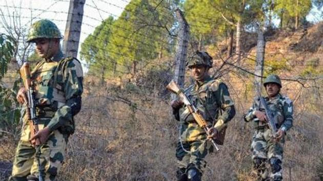 Four BSF jawans were reported to have been killed in an encounter in Chhattisgarh on Thursday.(PTI PHOTO)