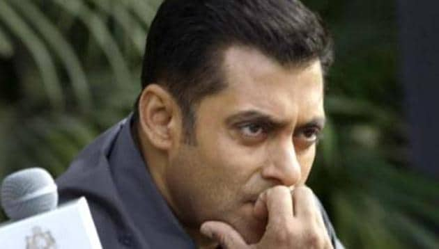 Salman Khan has threatened to shift the shooting of his movie out of Madhya Pradesh, if harassment by political parties continued.(HT FILE PHOTO)