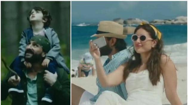 Kareena Kapoor and Saif Ali Khan star in a new advertisement.(Instagram)
