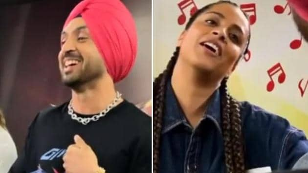 Punjabi singer-actor Diljit Dosanjh, who made his Bollywood debut with Udta Punjab, is currently shooting for Good News.(Instagram)