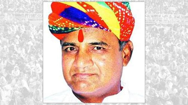 BJP Bhilwara MP Subhash Chand Baheria(Photo Credit: Subhash Chand Baheria Facebook page)