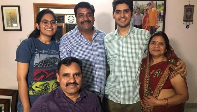 Kanishak Kataria, an alumnus of the Indian Institute of Technology (IIT) Bombay and the son of a Jaipur-based Indian Administrative Service officer, has topped the civil services examination.(HT Photo)