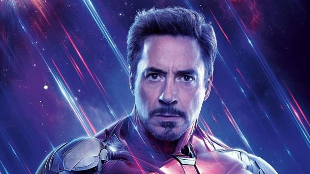Robert Downey Jr as Iron Man in a still from Avengers: Endgame.