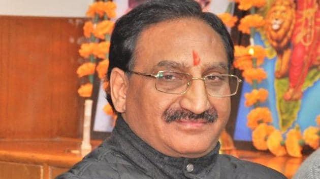 BJP MP from Haridwar, Ramesh Pokhriyal Nishank(HT Photo)