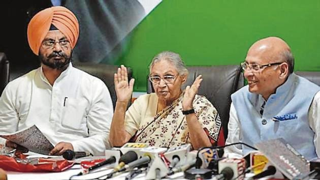 Seven Lok Sabha seats are at stake in Delhi, which goes to polls on May 12.(HT Photo)