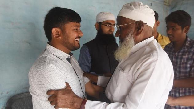 Kanhaiya Kumar CPI Candidate for Begusarai Lok Sabha seat(HT File)