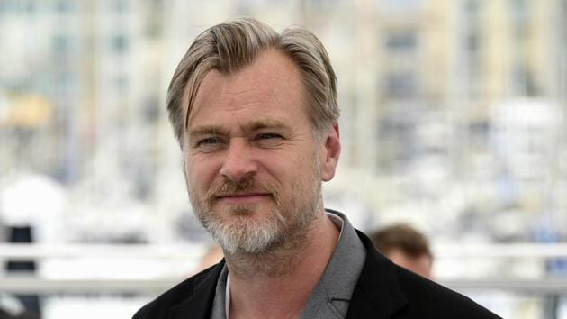 Christopher Nolan poses for photographers during a photo call for Rendezvous with Christopher Nolan at the 71st international film festival, Cannes.(Arthur Mola/Invision/AP)