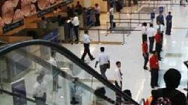 An Algerian man was arrested at the Delhi airport on March 27 for carrying a bag made of a monitor lizard's skin.(HT File / Photo used for reprsentational purpose only)
