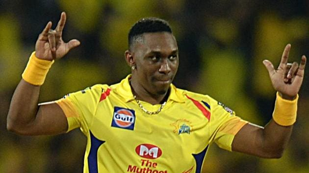 File image of CSK cricketer Dwayne Bravo(AFP)
