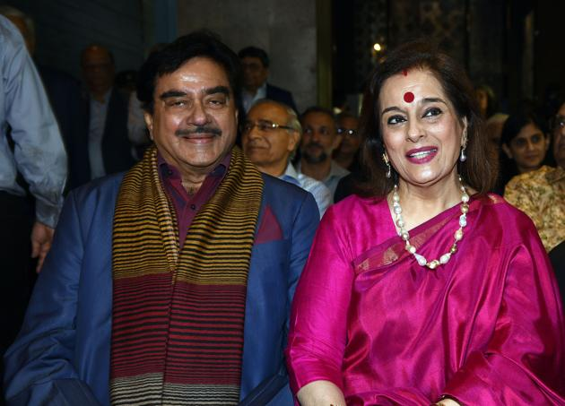 The party's Twitter handle also carried a picture of Poonam Sinha joining the party in the presence of SP chief Akhilesh Yadav's wife Dimple, who is an MP from Kannauj(AFP File)
