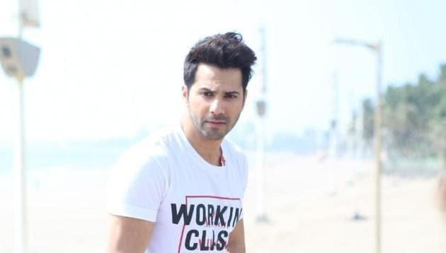 Varun Dhawan during the promotions of his upcoming film Kalank in Mumbai.(IANS)