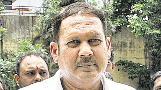 Udyanraje Bhosale, will contest this Lok Sabha elections on the NCP ticket.(HT PHOTO)