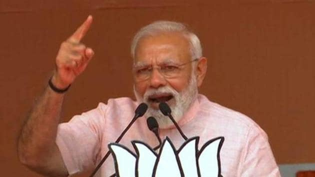 NaMo TV is a new channel that exclusively features Prime Minister Narendra Modi's speeches and content related to the ruling Bharatiya Janata Party (BJP)(ANI Photo)