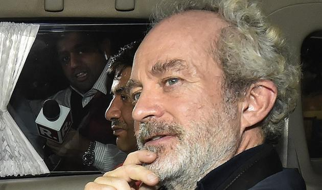 Michel Christian, the alleged middleman arrested in AgustaWestland case, has denied telling names of any person to the Enforcement Directorate during his questioning by the agency.(AP)