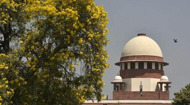 The Supreme Court on Friday refused to hear pleas challenging the constitutional validity of Aadhaar ordinance, brought by the Centre, and told the petitioners to approach a high court on the matter.(Biplov Bhuyan/HT PHOTO)