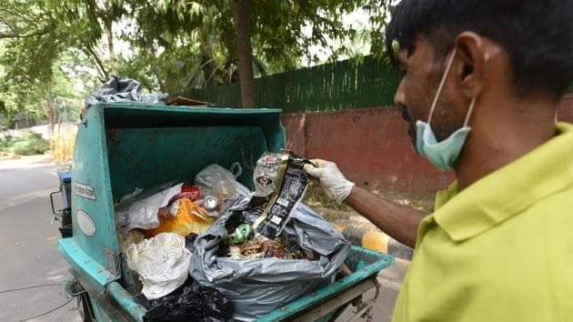 At least 12 municipal wards in the civic bodies of East, South, North, New Delhi and the Delhi Cantonment have been identified to be declared as model areas.(HT File Photo)