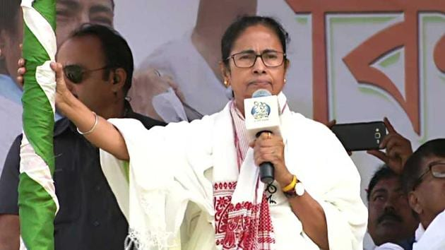 The West Bengal chief minister called NRC and CAB as two lollipops doled out by the government at the Centre for Assam and West Bengal and urged voters not to get taken in by them.(ANI)