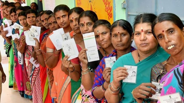 The Congress increased its seats from 58 to 114 with an increase in vote share which was almost equal to the decline in the BJP's vote share.(PTI FILE)